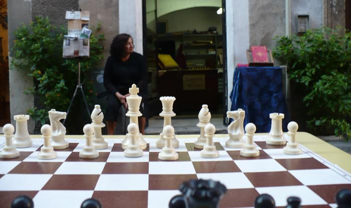 scacco matto in piazza Ansidei