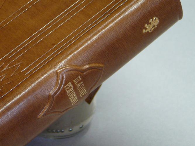 restauro libro del 1800
