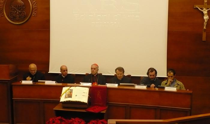 esposizione evangeliario università lateranensis - roma